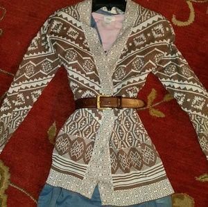 Fun sweater with dress from Joei